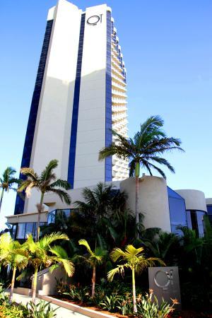 QT Gold Coast: The QT outside
