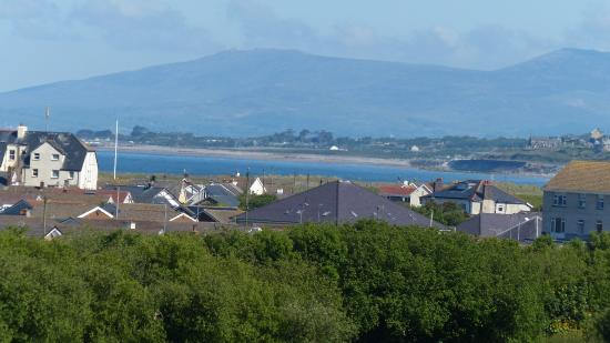 Einion House: View from our room (long Lens)