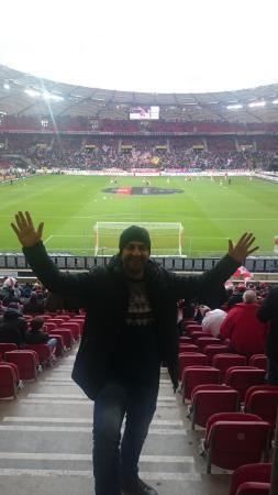 Mercedes Benz Arena: great time