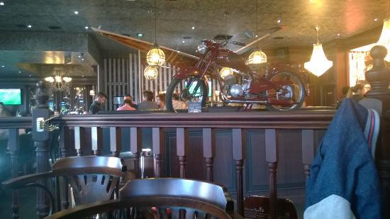 Resto Le Bureau : Au bureau brasserie pub salon de provence
