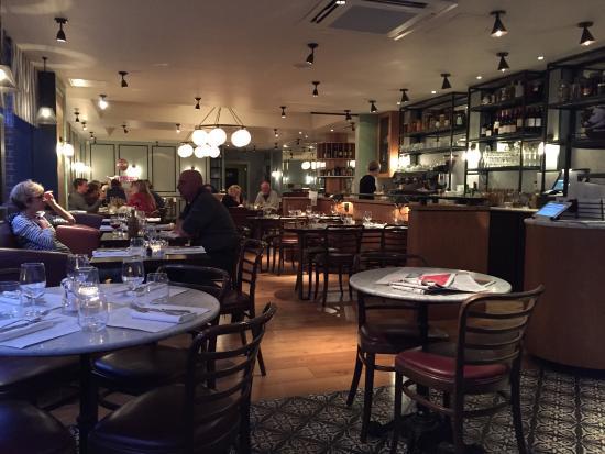Cote Brasserie - Chichester: Inside the restaurant