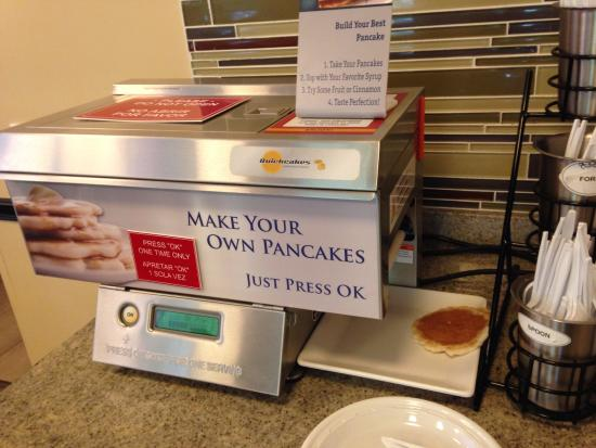 BEST WESTERN PLUS Orlando Convention Center Hotel: Café da manhã - Panquecas com 1 botão