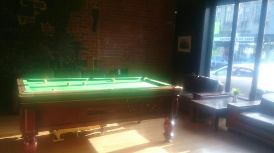 The Royal Derby Hotel : Pool Table
