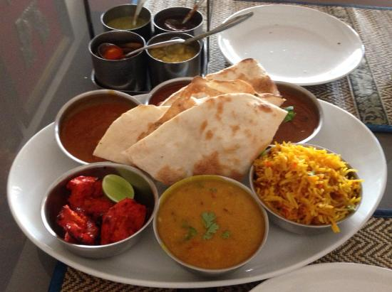 Delicious indian food from the buffet picture of zafran for Authentic indian cuisine