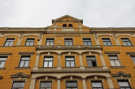 Hotel-Pension Lehrerhaus: Fassade
