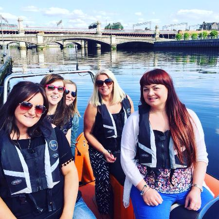 Seaforce : Highly recommend, great view of glasgow on the Clyde. We had a blast from beginning to end. Than