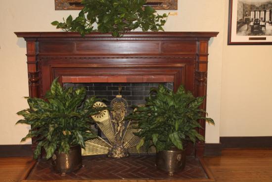 The Casements : Fireplace in Livingroom