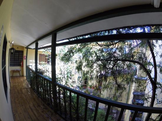 Hostal Mallqui: Balcon de mi habitacion