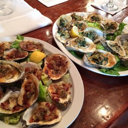 Aiken, SC: Oysters Kilpatrick....awesome!!