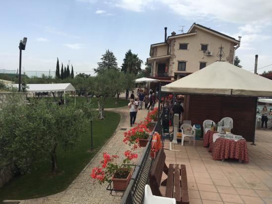 Gallicano nel Lazio, Италия: Agriturismo degli Acquedotti