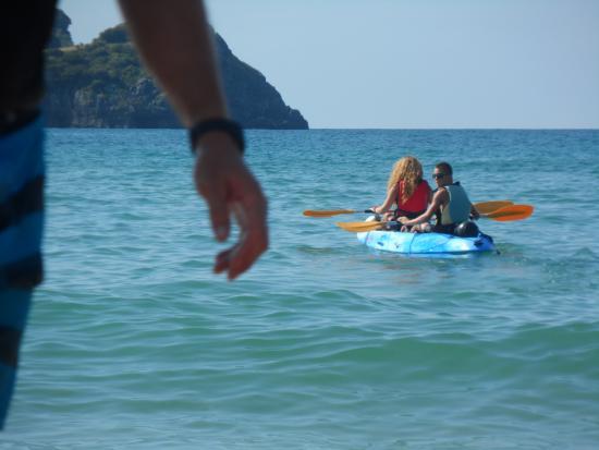 NojActiva: Con el mar en calma.