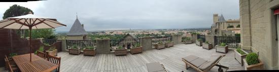 Hotel de la Cite Carcassonne - MGallery Collection: Terrasse de la suite