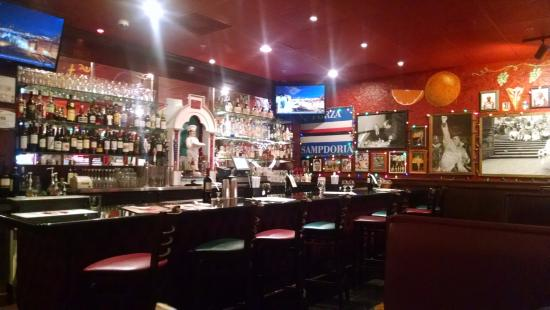 """Coral Springs, FL: """"Sports"""" Bar room with tables for 2-6"""
