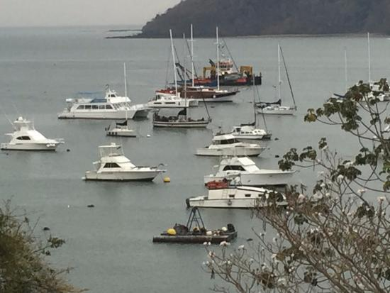 Country Inn & Suites By Carlson, Panama City, Panama: View of Yacht Club from room balcony