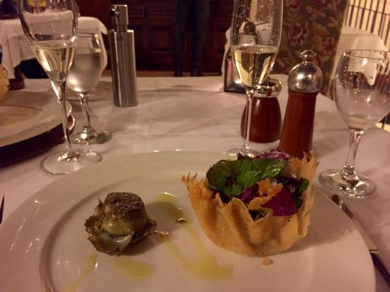 Petroio, Italy: Vegetarian starter