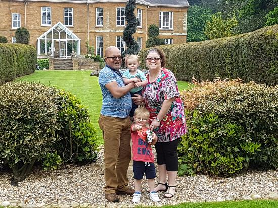 Chapel Brampton, UK: Fun at Sedgebrook Hall