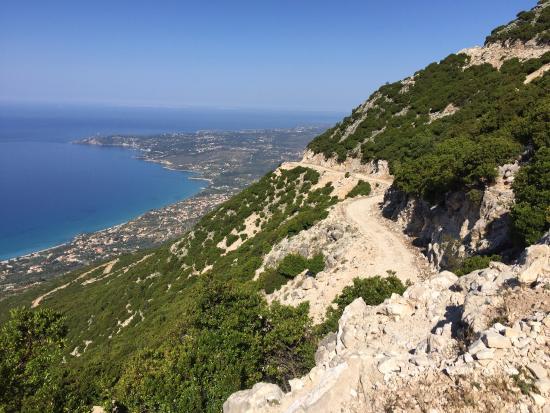 Argostolion, Grecia: Scenic Road at 1000m