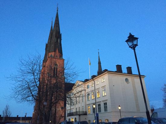 อุปซอลา, สวีเดน: captured on a cold evening!