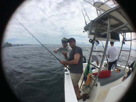 Bahia Rica Kayak and Fishing Lodge : Fish on fish on fish.