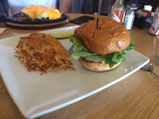 Hot Brew : Turkey burger