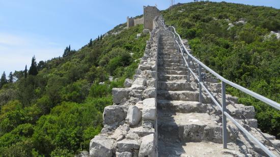 Muraille De Ston Picture Of Ston City Walls Ston