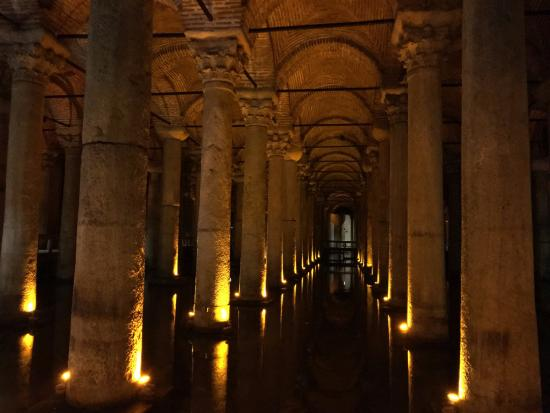 The Istanbul Hotel: Basilica Cisterns (just up the street)
