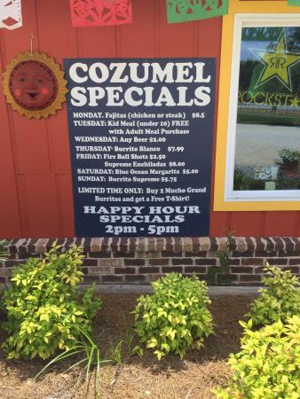 Cozumel Mexican Restaurant Loxley, Alabama