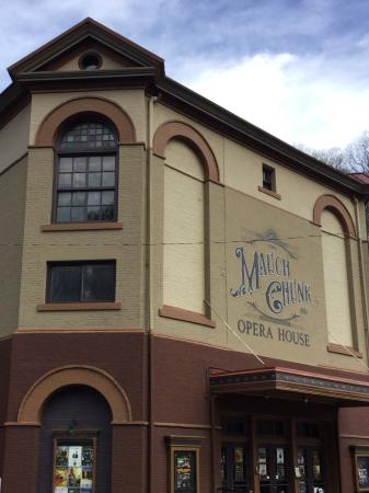 The Mauch Chunk Opera House: Mauch Chunk Opera House, Jim Thorpe PA