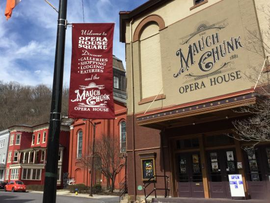 The Mauch Chunk Opera House: Opera House