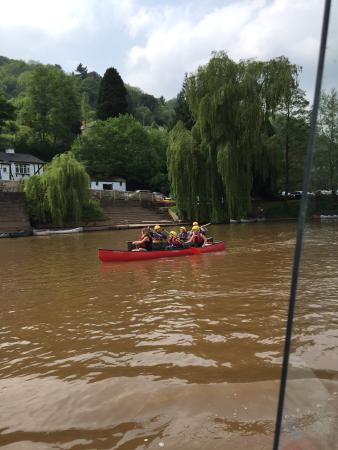 Whitchurch, UK: A day out on the river