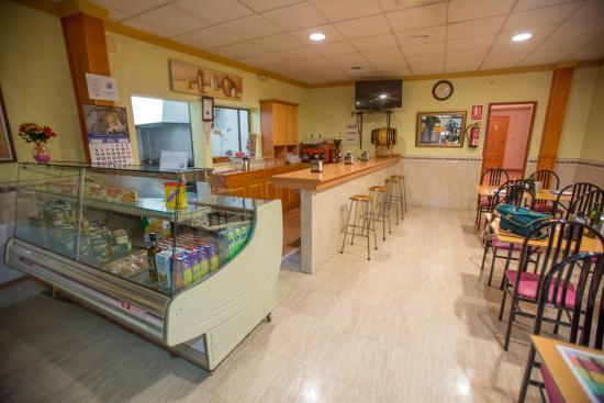 Miguelturra, España: Cafeteria