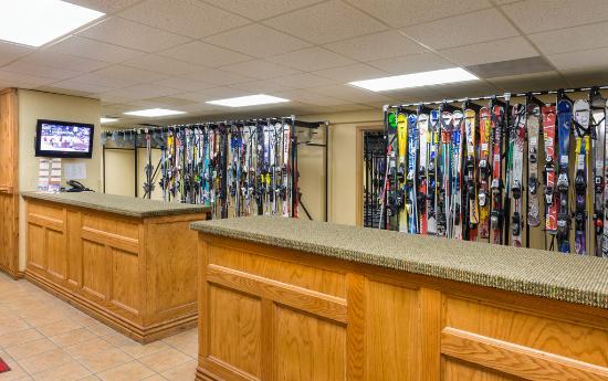 Westgate Park City Resort & Spa: Ski Valet Room