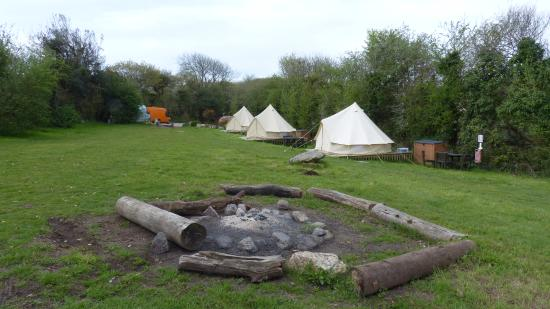St Blazey, UK: Camp site