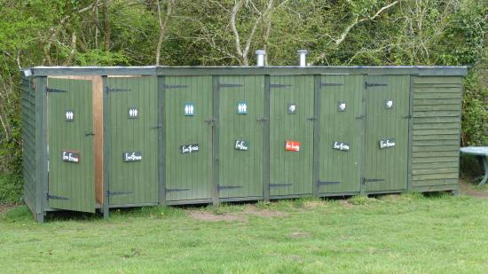 St Blazey, UK: Toilets and shower
