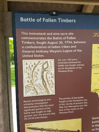 Fallen Timbers Battlefield: On Memorial day 2016