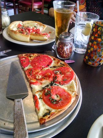 Dobro's: Even the Gluten Free crust was delicious