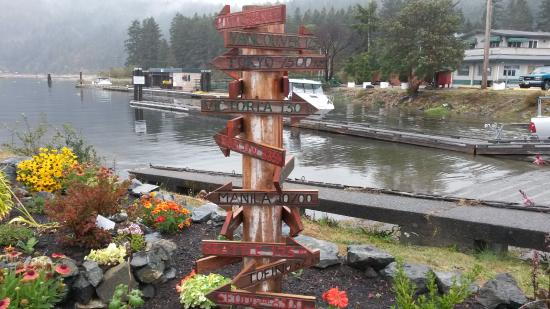 Port Alberni, Canada: China Creek boat launch ramp.