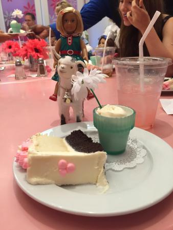 Standard Birthday Cake And Ice Cream