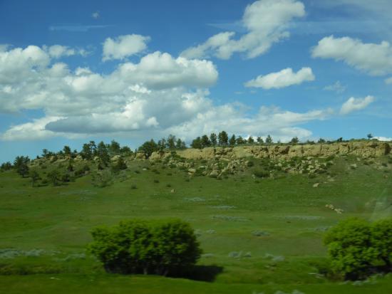 Hilton Garden Inn Billings: Beautiful Valley of Little Big Horn where Custer was defeated.