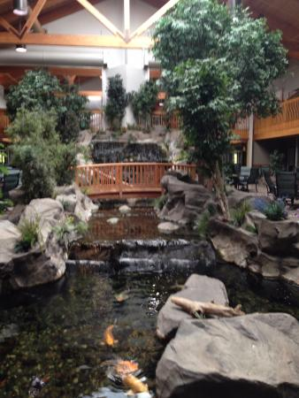 Billings C'mon Inn Hotel: Lobby that makes you feel like you're outdoors