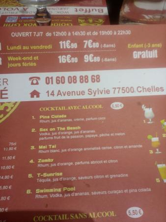 Chelles, Francja: Tarifs, horaires