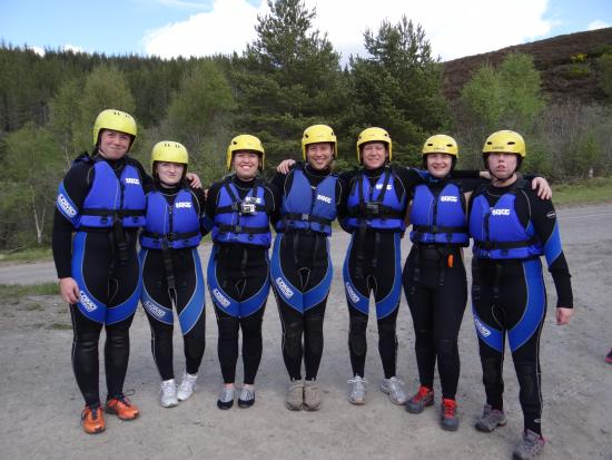 Craggan Outdoors: Before gorge walking
