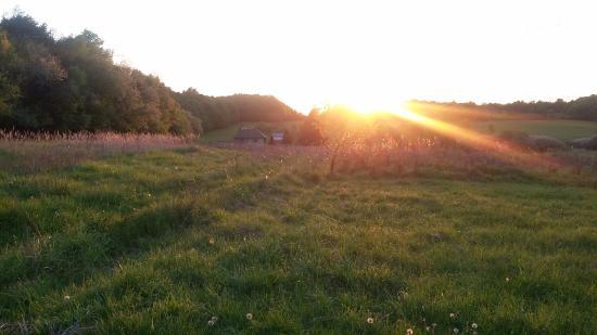 Cerovo, Slovakia: Sonnenuntergang
