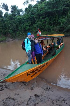 Wasai Tambopata Lodge : The boat
