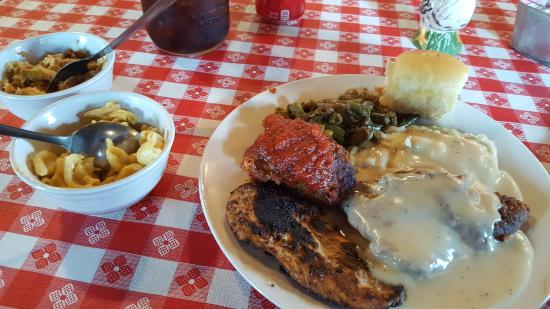 Cameron, TX: Lunch plate