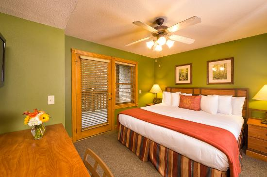 Bedroom One Bedroom Deluxe Picture Of Westgate Smoky Mountain Resort Spa Gatlinburg Tripadvisor