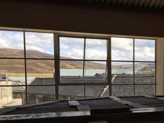 Glenfarclas Distillery: What A Great View From The U0027officeu0027 Window.