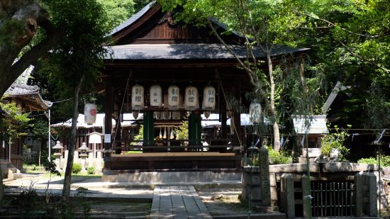 Sekino Semimaru Shrine