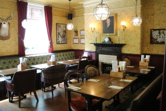 The Sherlock Holmes Pub Upstairs Dining Room At