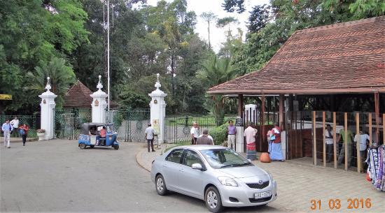 Ticket Office Royal Botanical Gardens Kandy
